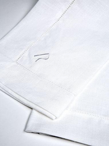 White Linen Napkin by Rose Uniacke_0