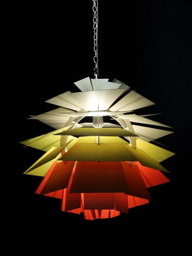 Very Rare 'Light of The Future' by Poul Henningsen_1