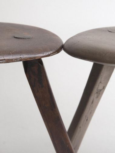 Bronze Stool II by Rose Uniacke close up