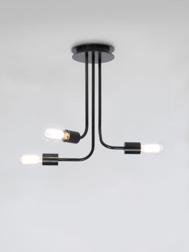 3 Arm Wall Mounted Light (Type B) by Seth Stein_0