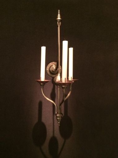 Pair of Wall Candelabra by W.A.S. Benson_1
