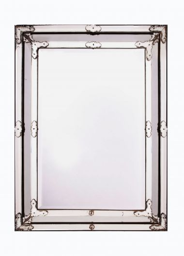 Late 19th Century Venetian Glass Border Mirror_0