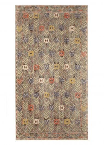 'Rågen' - A Linen & Wool Textile Panel Designed by Märta Måås Fjetterström_0