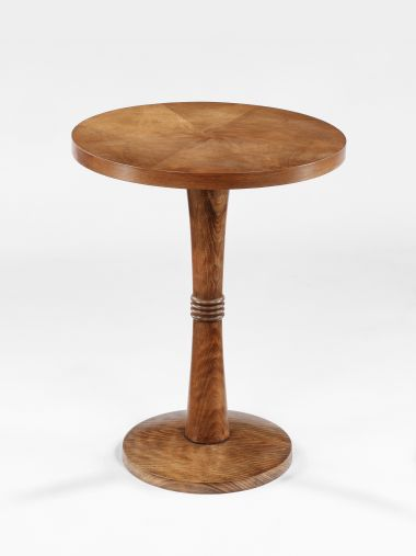 Art Deco Walnut Veneered Occasional Table_0