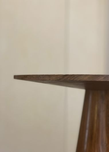 Solid Walnut Side Table by Rose Uniacke_1