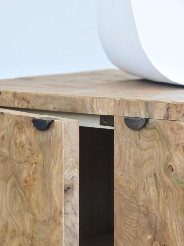 Double Floating Side Cabinet by Rose Uniacke_1