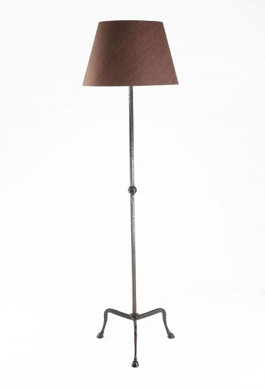 Natural Hoof Chocolate Lamp Shade by Rose Uniacke