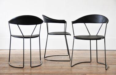 Y-Chair in Black by Rose Uniacke_1