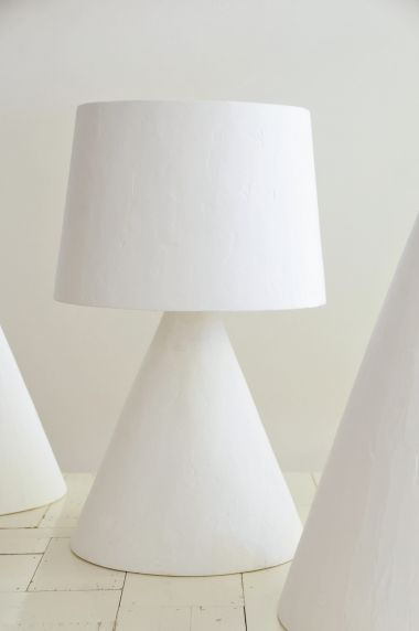 Plaster Table Lamp by Rose Uniacke_1