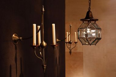 Pair of Wall Candelabra by W.A.S. Benson_2