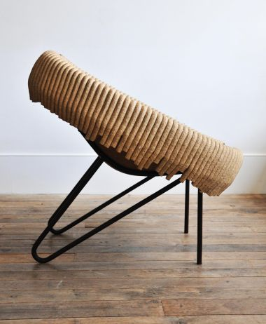 'Up-Cycled' Tub Chair by Domingos Totora_2