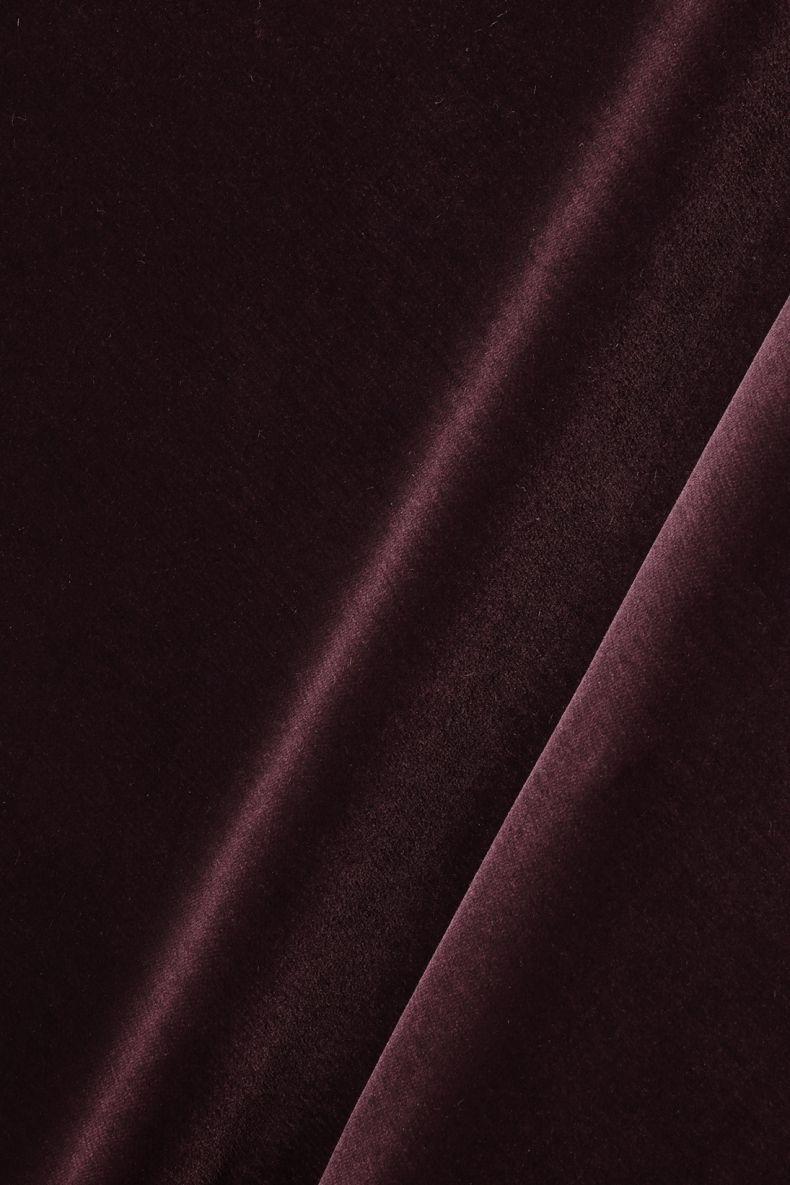 Cotton Velvet in Tyrian_0