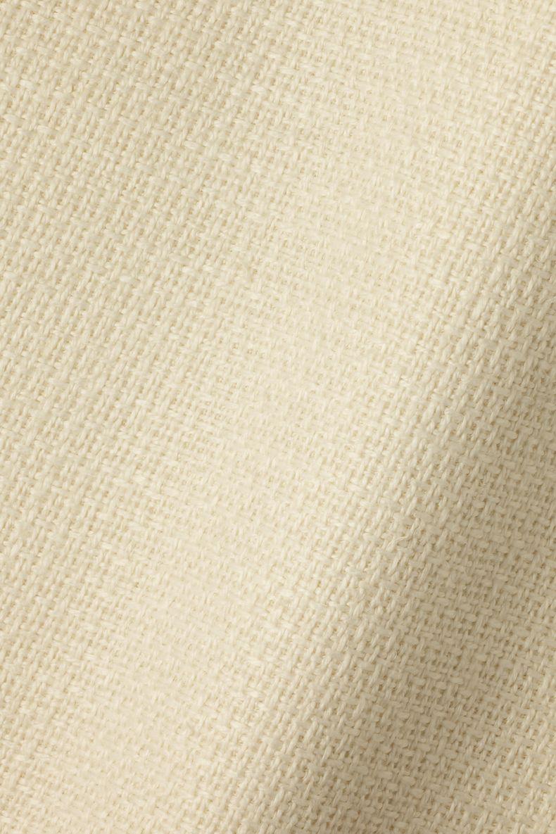 Textured Linen in Woven Cream_0