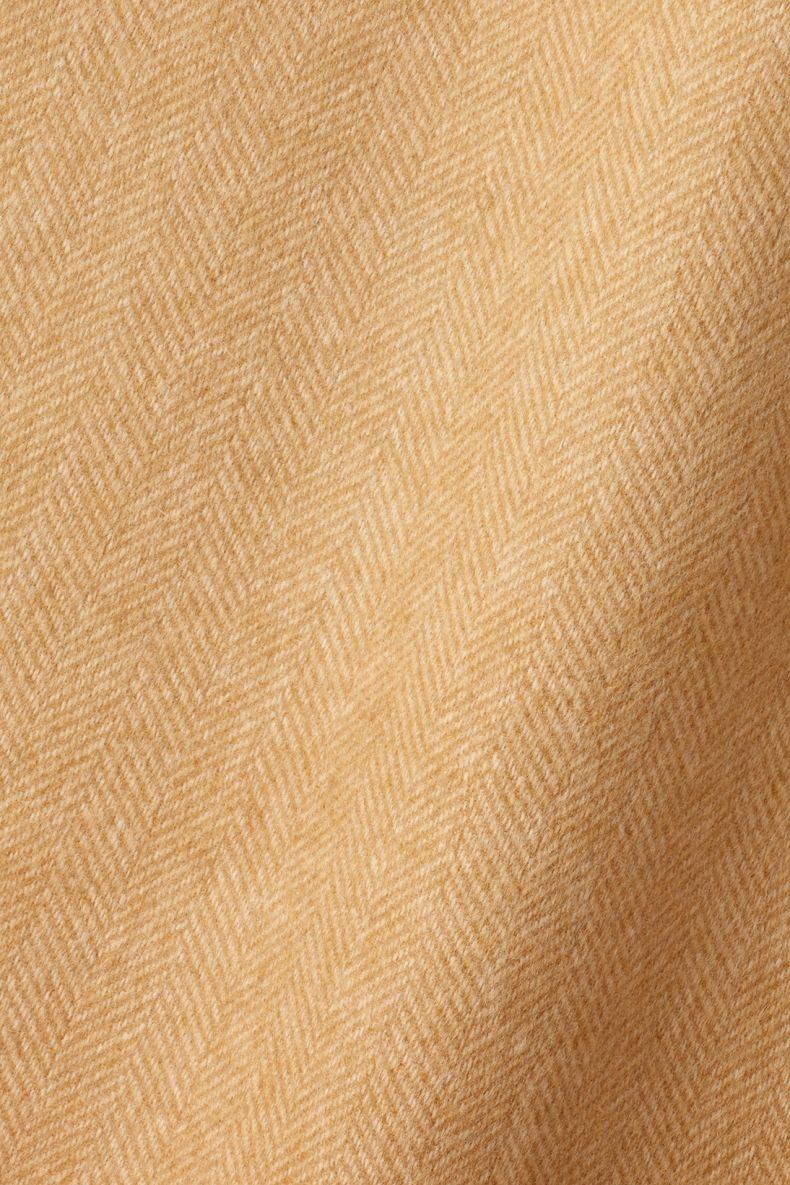 Wool in Herringbone Toffee / Camel_0