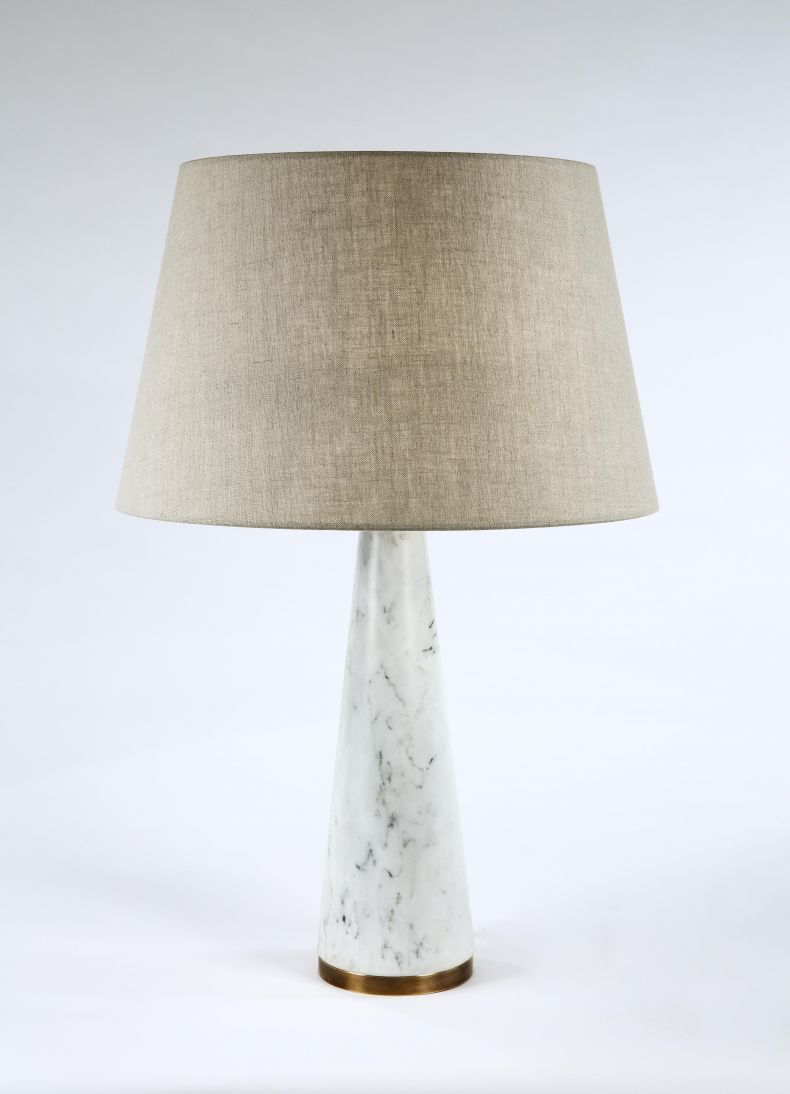 Marble Cone Lamp