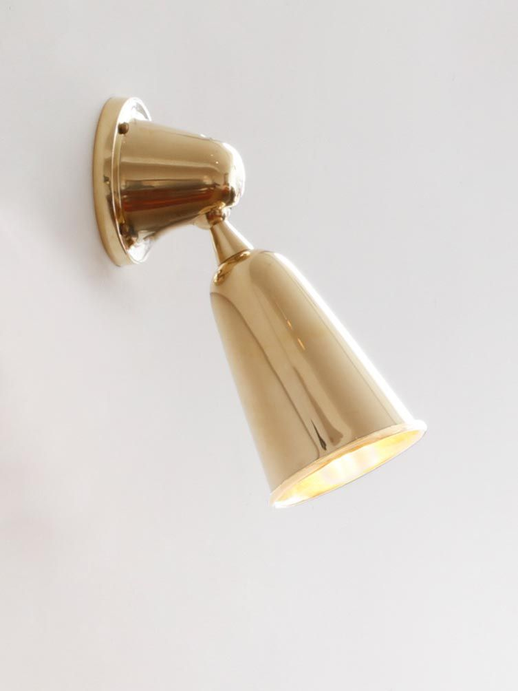 Spot Light in Polished Brass - US Wiring_0