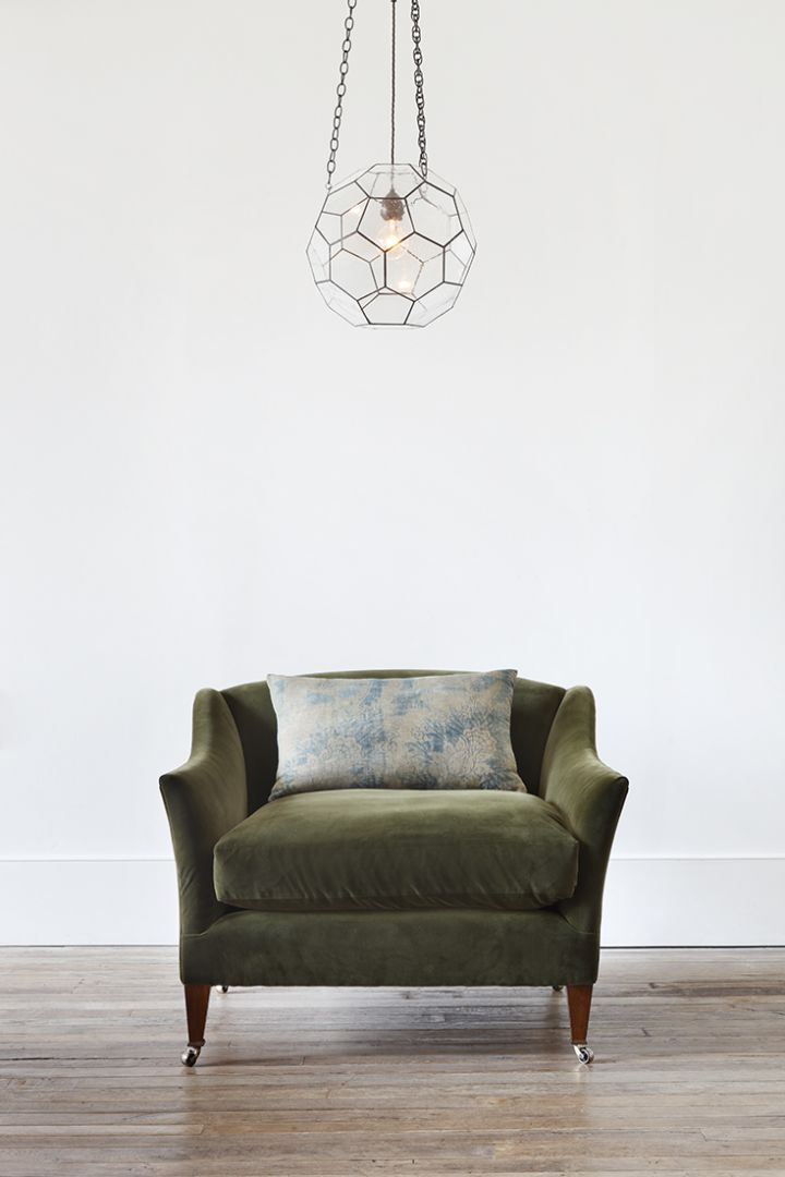 Luxury Drawing Room Armchair by Rose Uniacke