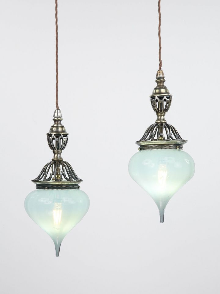 Pair of Hanging Pendant Lights_0