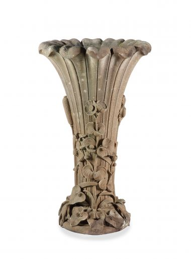 Large 19th Century Sandstone Garden Fountain_0