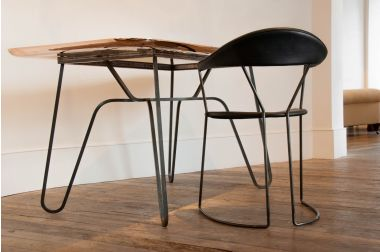 Straw Table by Rose Uniacke_2