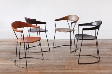 Y-Chair in Black by Rose Uniacke_6
