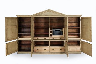 Large 18th Century 'Kitchen' Cabinet_1