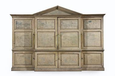 Large 18th Century 'Kitchen' Cabinet_2