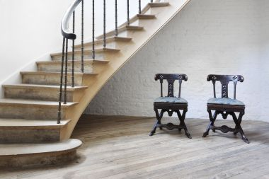 Antique Pair of Side Chairs in the manner of A.W.N. Pugin