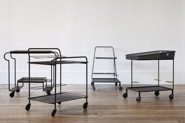 Rare Rigitulle Drinks Trolley by Mathieu Mategot_1
