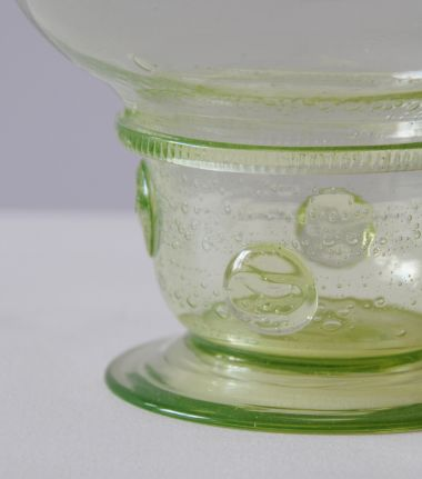 Green Glass Bowl by Edward Spencer_0