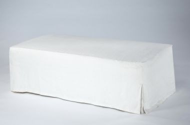 Upholstered Ottoman with Loose Cover by Rose Uniacke_1