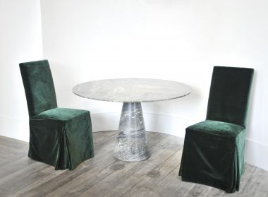 Green Marble Centre Table by Rose Uniacke_5