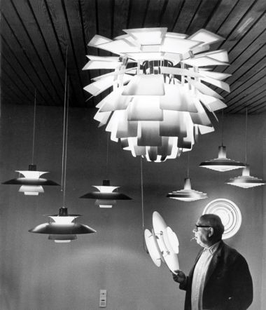 Very Rare 'Light of The Future' by Poul Henningsen_2