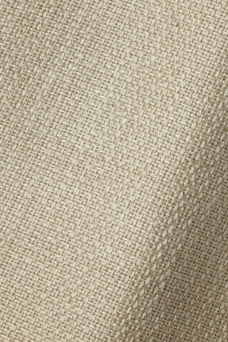 Textured Linen in Woven Natural by Rose Uniacke_0
