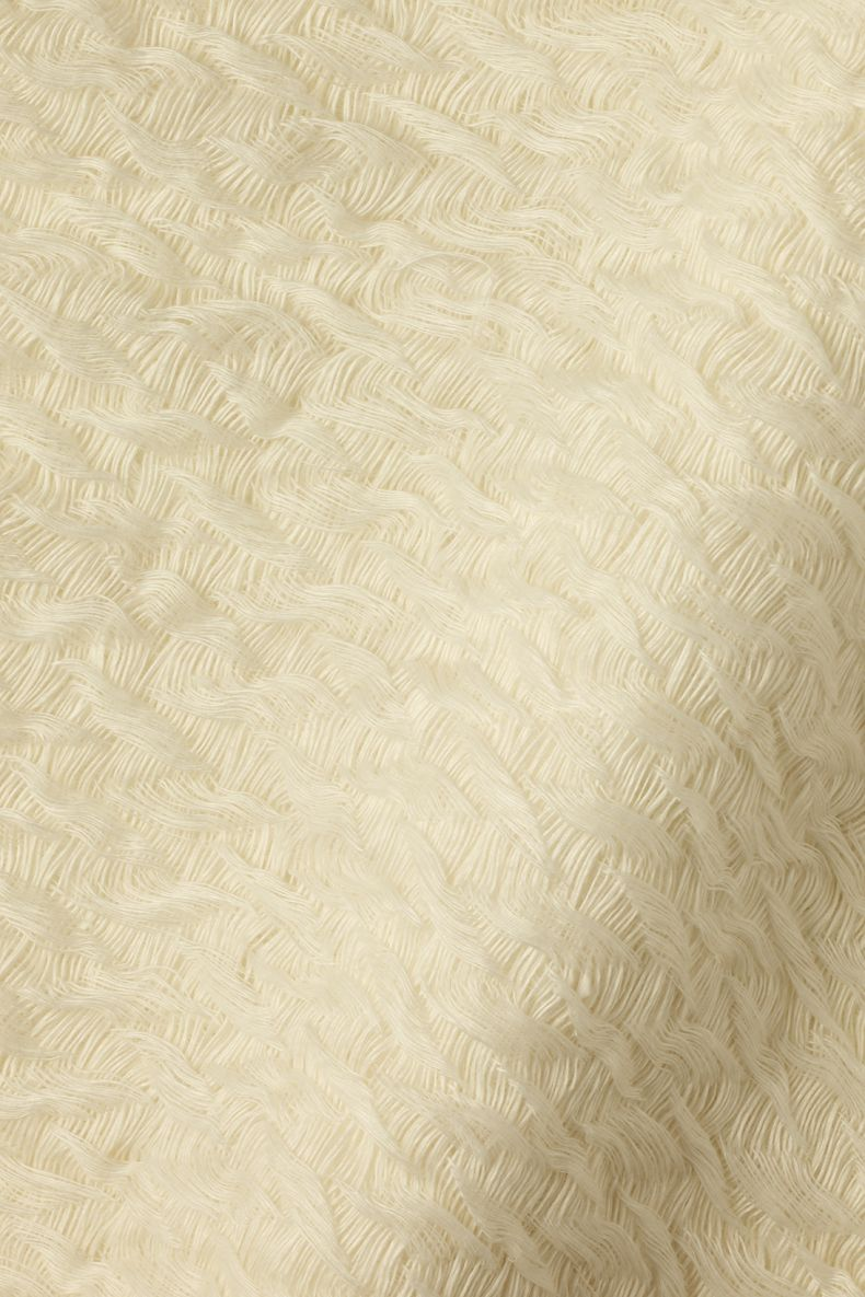 Textured Linen in Meringue by Rose Uniacke_0