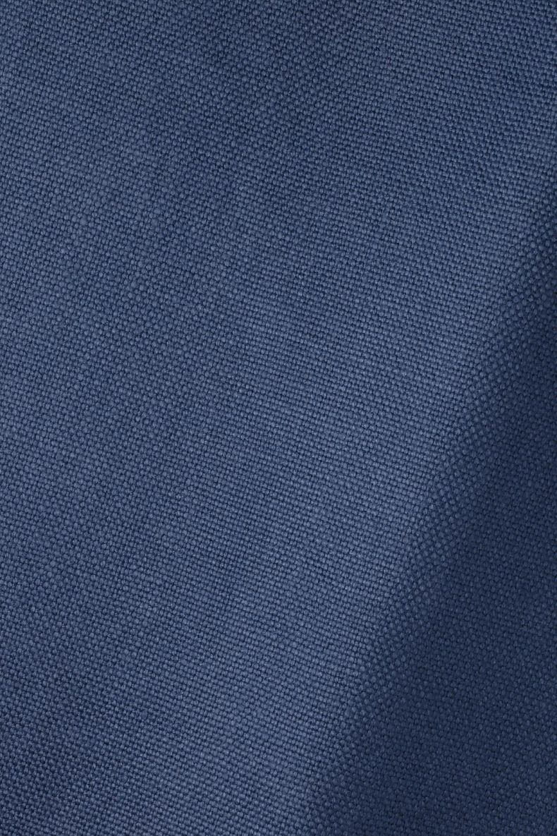 Heavy Weight Linen in Indigo_0