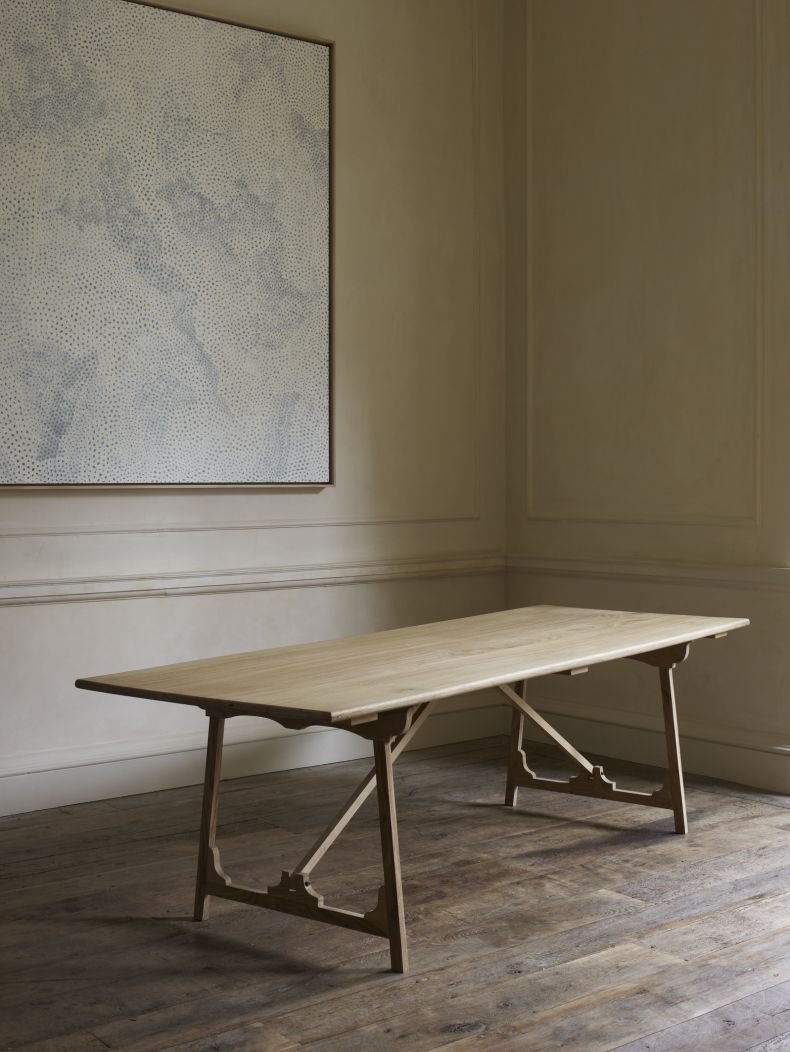 Folding 'Campaign' Refectory Table by Rose Uniacke_0