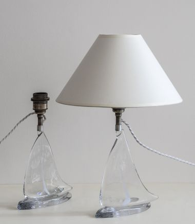 Pair of Glass Table Lamps_2