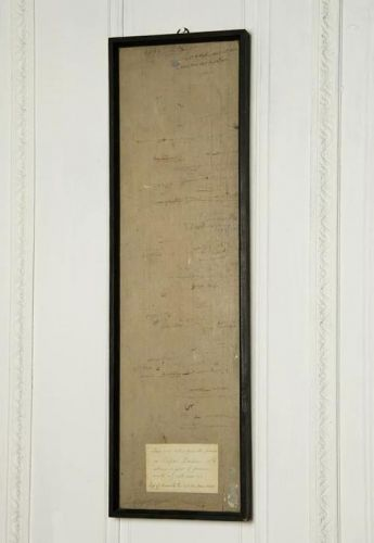 Framed Section of 18th Century Wall Panelling