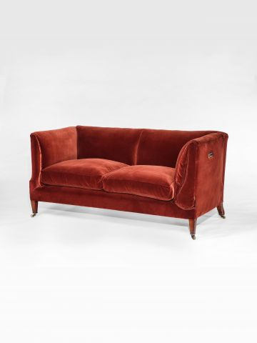 Howard & Son Drop-Arm Sofa/Daybed