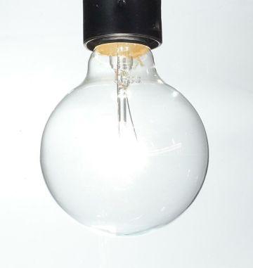 125mm 60W Globe Lightbulbs
