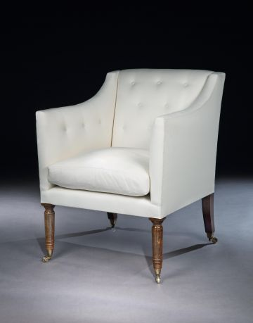 Library Chair by Rose Uniacke