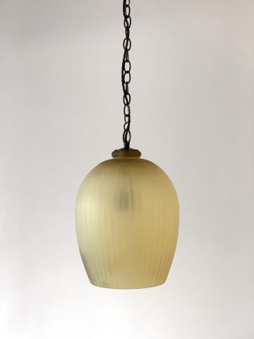 Citrine Glass Lantern by Rose Uniacke