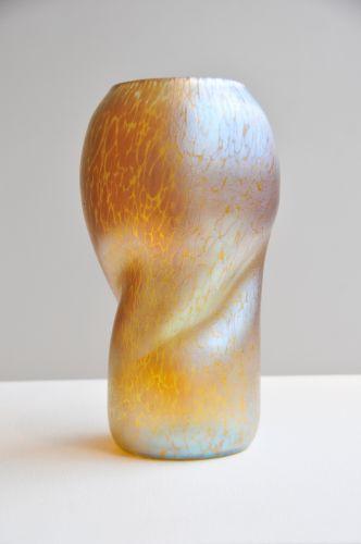 Art Nouveau Loetz 'Papillon Candia' Glass Vase