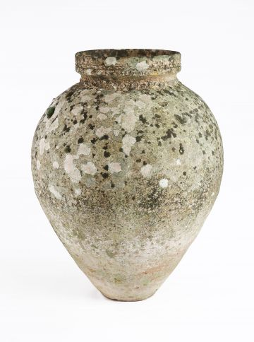 Large 19th Century Ceramic Oil Jar