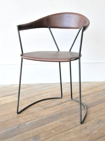 Y-Chair in Stout by Rose Uniacke