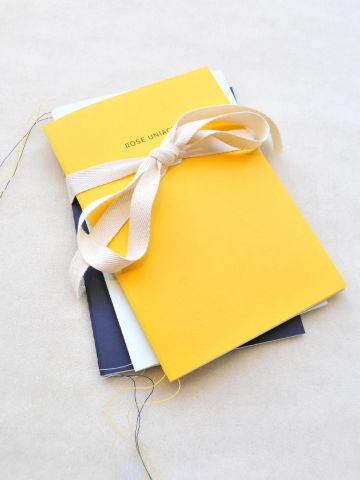 Set of Three A5 Paperback Notebooks