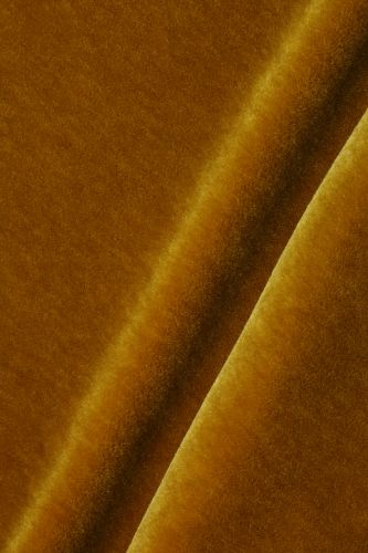 Mohair Velvet in Gold