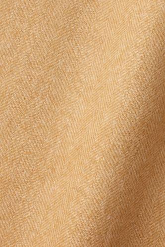 Wool in Herringbone Toffee / Camel