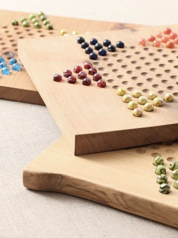 Chinese Chequers Board by Rose Uniacke